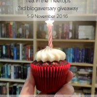 Blogaversary Giveaway and October Wrap Up